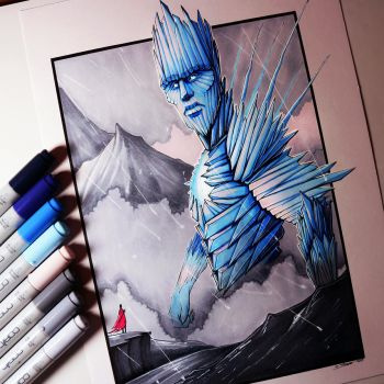 Ice Giant Drawing by LethalChris