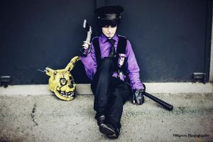 Five night at Freddy's cosplay - purple guy by AlicexLiddell