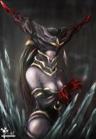 Blood Stone Lissandra by yuureikoghost