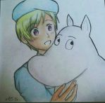 Finland and Moomin  by XxMicky97xX