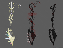 Tri Stage Sword Concept [C Xemnas-The-Leader] by MamaELM