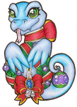 Neopets - A Very Hissi Holiday by heatbish