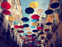 Umbrellas by N-Muhammad