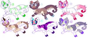 Chimera adoptables: OPEN by Pand-ASS