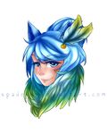 Vulpecula :: Coloured Headshot Commissions OPEN by Spadejo9