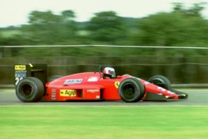 Gerhard Berger (Great Britain 1987) by F1-history