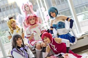 Magical Girl Represent! by Flanna