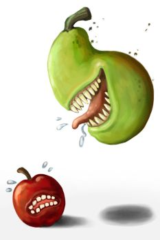 Pear Attack!! by polawat