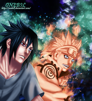 Naruto 641: Smiling by OneBill