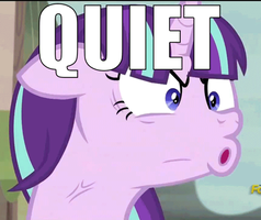 QUIET!!! - Starlight Glimmer GIF by ReignBeaux-XIII