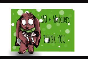 .::150 Watchers::. by White-king2332
