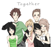 Together characters by drive-a-leaf