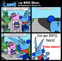 The Glumps #4: RPG Hero by Teh-Ray