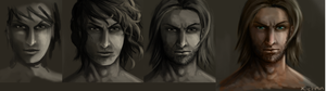 Face evolution practise