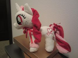 Custom OC my little pony Plush Nay valentine by Little-Broy-Peep