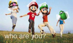 who are you? - SuperMario64DS by MaddKaze