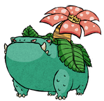 Venusaur WWS by the19thGinny