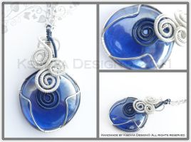 Blue Swirl by KsenyaDesign