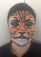 Face Painting Tiger by EmyBBeauty