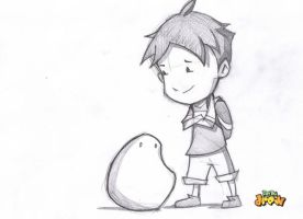 Boy and His Blob by DatBoiDrew