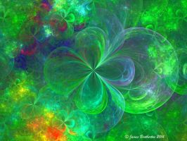 Crystal 4 Leaf Clovers by jim88bro