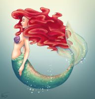 Ariel colored by valerinam