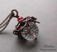 Tinkerbell pendant by Pastely
