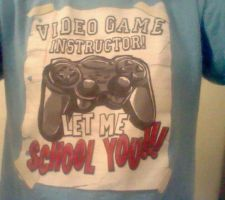 My Video Game Shirt by KohakuJSMA