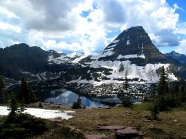 Hidden Lake #3 by KRHPhotography