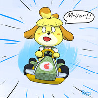 Isabelle Mk8 by Forgotten-Twilight