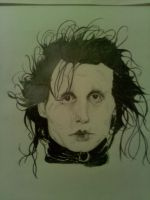 Edward Scissorhands by Zimriver