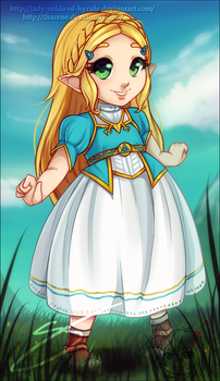 Precious Child of the Wild by Lady-Zelda-of-Hyrule