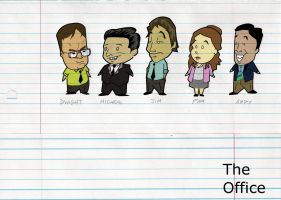 The Office on Office Paper by JJCORP1509