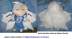 Sariel plushie by Hao-007