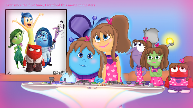 Inside Out 2nd Anniversary Contest Entry by KatieGirlsForever