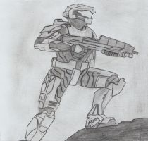 Master Chief by hunte-x
