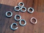 Twisted Wire Rings Steel by SkepticRaven