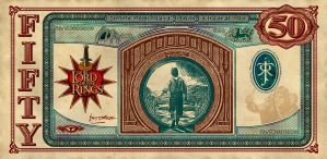 Lord of the Rings Currency Back by vectorgeek