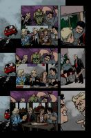 Shaun of the Dead pages colors by LarsonJamesART