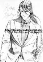BLEACH: Kuchiki Byakuya -suit- by blackstorm