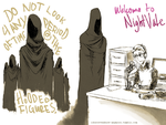 Welcome to Night Vale - Hooded Figures by dontevenknow-anymore