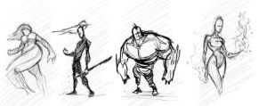 A few sketches by delucia44