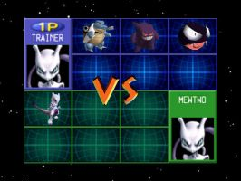mewtwo vs. mewtwo by zeke3323
