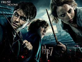 Trust no one HP7 wallpaper by Kathyg08
