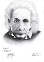 Albert Einstein by Gokalp10