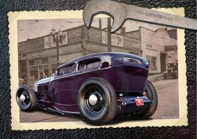 32 Ford hot rod by RedHotTiki