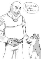 Heavy Weapons Dog 2 by apocastasis