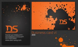 Dani-Sang Business Card 2010 by Dani-Sang