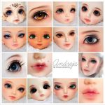 2012 June faceups commissions by AndrejA