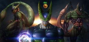 DBZ Cell The Perfect Android by Grapiqkad